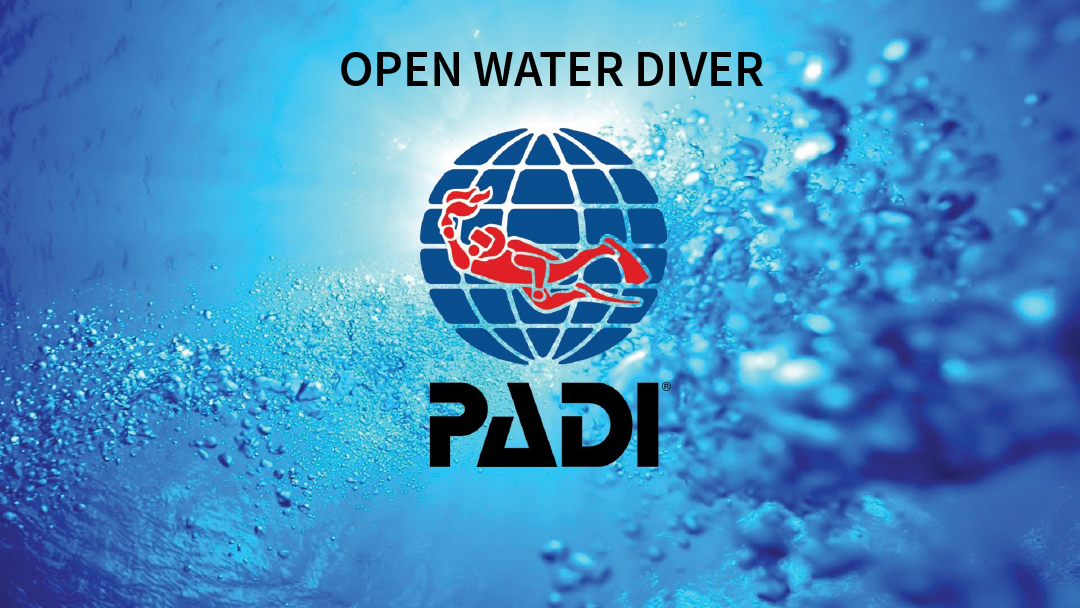 formation padi open water